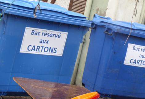Une gestion plus durable des déchets du marché