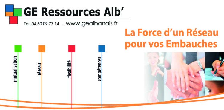 GE Ressources Alb' – Groupement d'employeurs de l'Albanais haut-savoyard