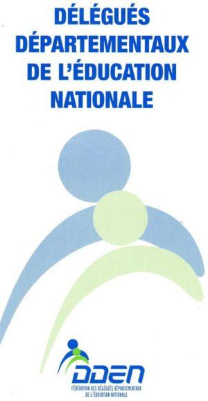Délégués départementaux de l'Éducation nationale