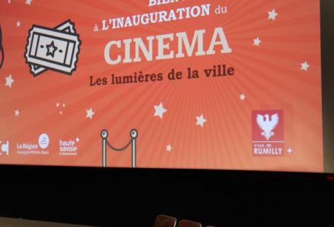 """Inauguration du cinéma """"Les lumières de la ville"""""""