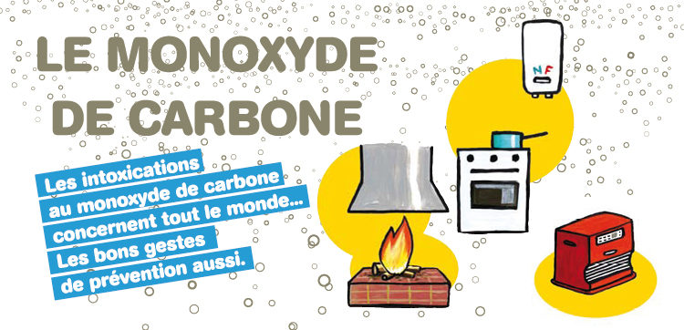 Monoxyde de carbone : attention aux intoxications