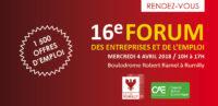 16e Forum des entreprises et de l'emploi