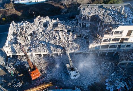 Opération d'aménagement de l'ancien hôpital