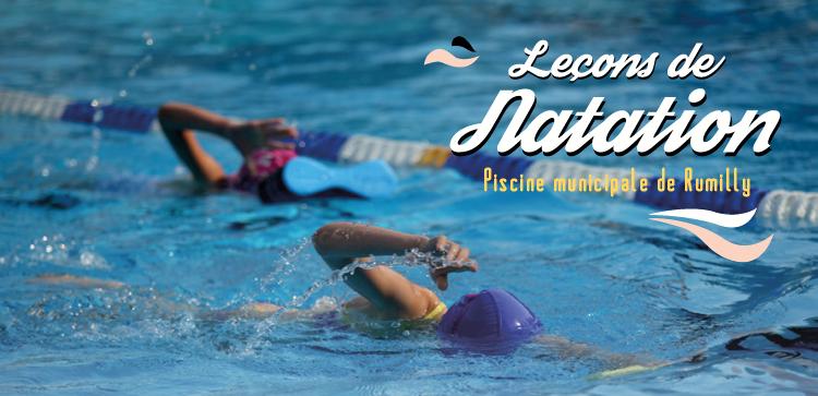 Leçons de natation, début des inscriptions