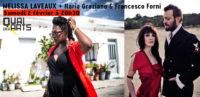 Mélissa Laveaux + Ilaria Graziano & Francesco Forni (1ère partie)