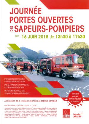 Journée portes ouvertes des sapeurs-pompiers