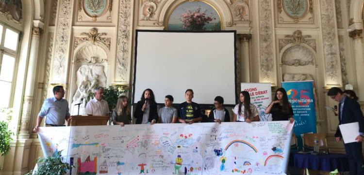 Le CMJ reçoit le prix ANACEJ des jeunes citoyens !