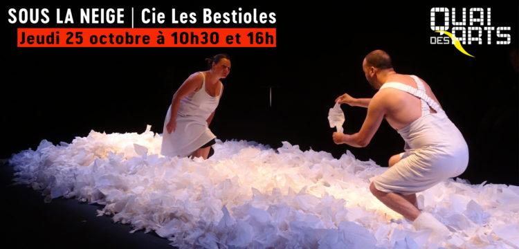 Sous la neige | Compagnie Les Bestioles