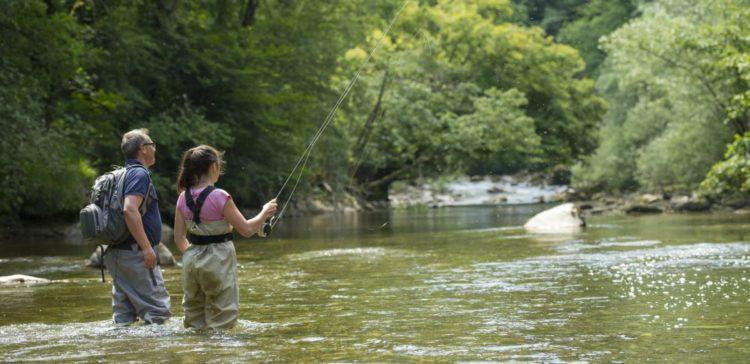 Découverte de la pêche à la truite