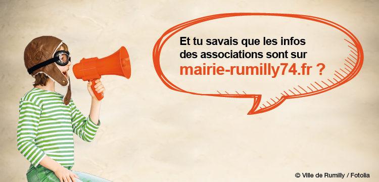 Vous cherchez une association à Rumilly ? Suivez le guide !