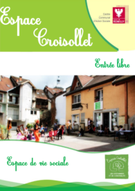 Programme de l'Espace Croisollet 2018-2019