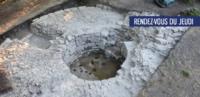 Les fouilles archéologiques du château médiéval de Clermont