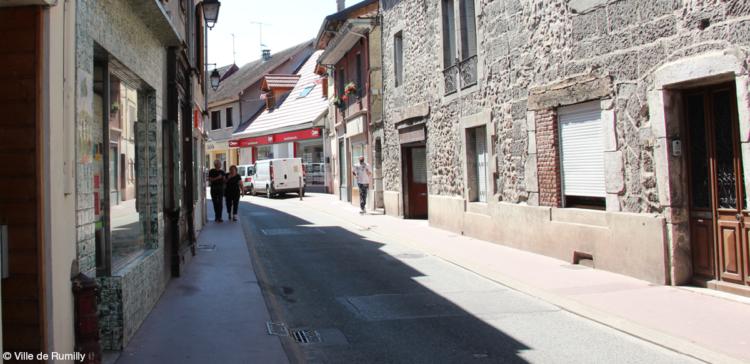 Opération d'aménagement rue Montpelaz / rue des Tours