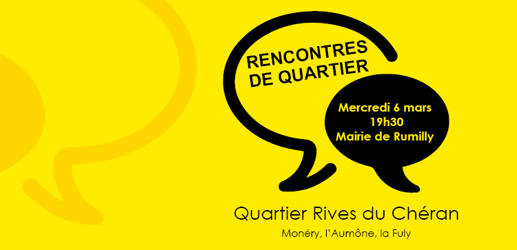 "Rencontre de quartier ""Rives du Chéran"""