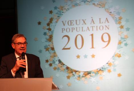 Cérémonie des vœux à la population 2019