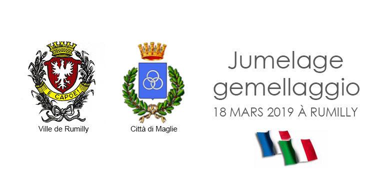 Visite officielle de la délégation italienne de Maglie