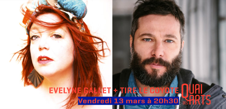 Evelyne Gallet+ Tire le Coyote