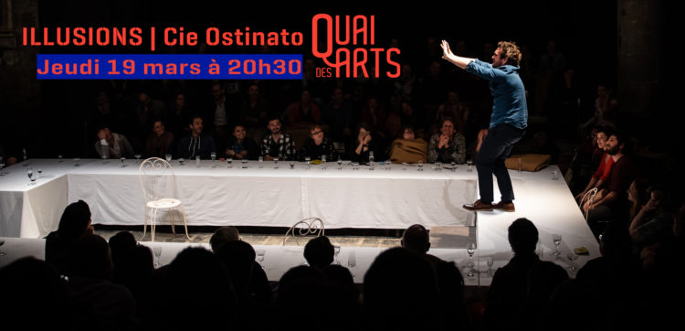 Illusions l Ivann Viripazv – Olivier Maurin Cie Ostinato