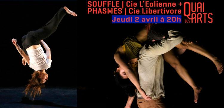Souffle | Cie l'Eolienne + Phasmes | Cie Libertivore