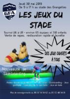 """Les """"Jeux du stade"""""""