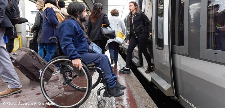 """L'""""accès TER"""" en situation de handicap"""