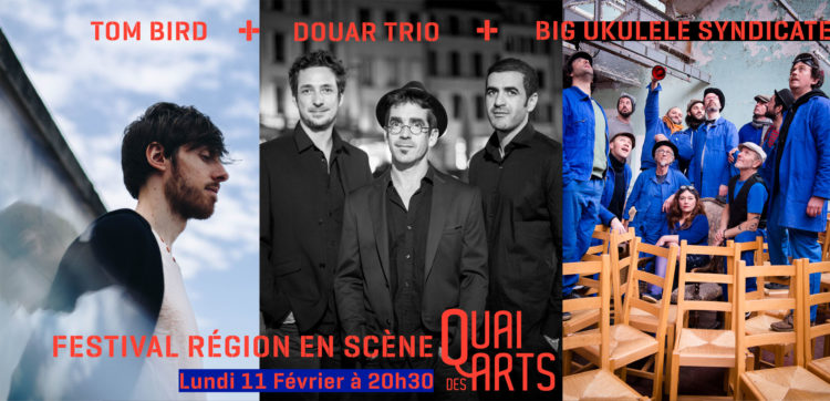 Tom Bird + Douar Trio + Big Ukulélé