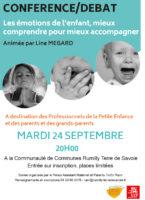 Conférence/Débat – Les émotions de l'enfant