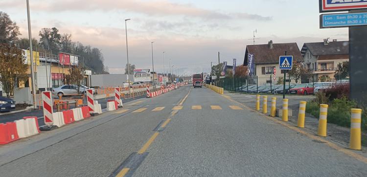 L'aménagement de la voie verte rue René Cassin se poursuit