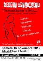 Théâtre / Soirée spectacles « Sensasionn'elles »