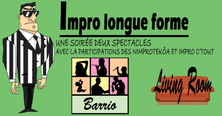Théâtre d'improvisation / Impro longue