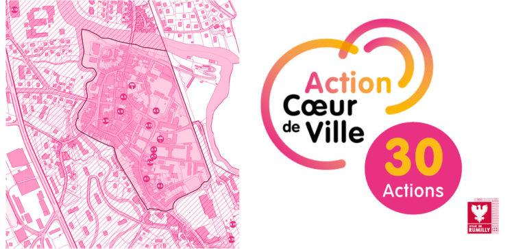Les 30 actions du programme « Action Cœur de Ville »