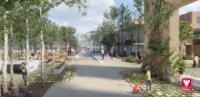 Le projet pour l'îlot rue Montpelaz / rue des Tours se dessine