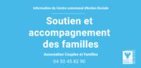 Accompagnement et soutien auprès des familles