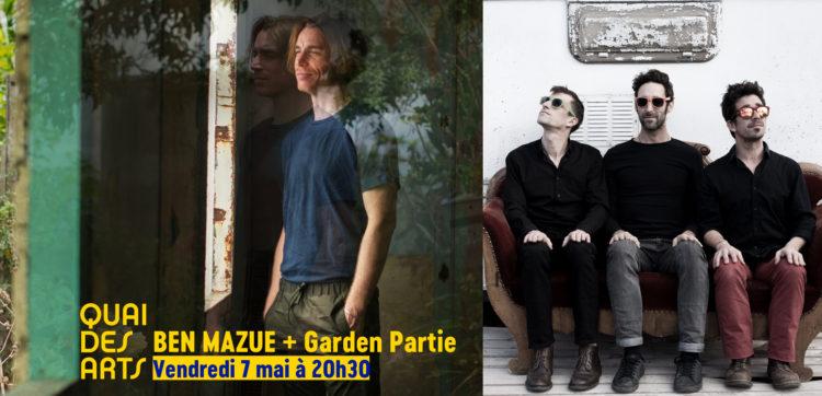 Ben Mazué + Garden Partie (1ère partie)