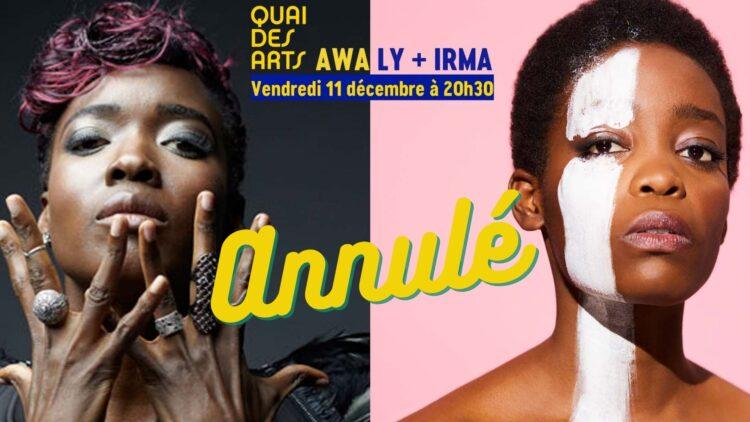 Awa Ly + Irma // ANNULÉ