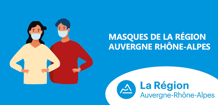Masques de la Région Auvergne Rhône-Alpes