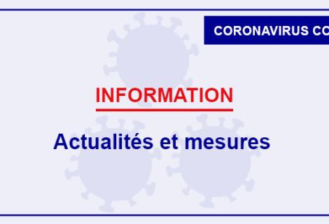 Covid-19 : les infos actualisées