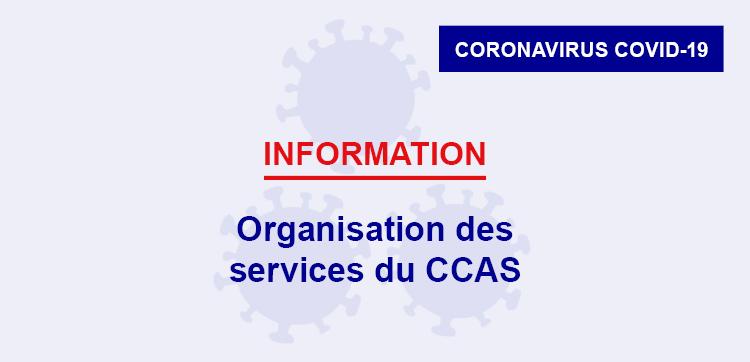 Organisation des services du CCAS