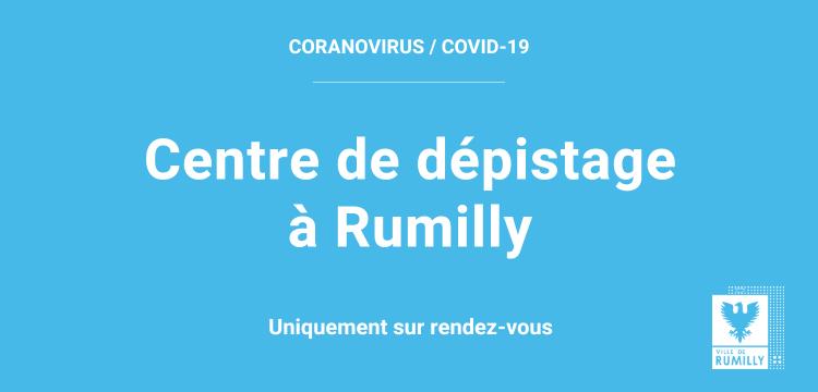 Covid-19 : un centre de dépistage antigénique sur Rumilly