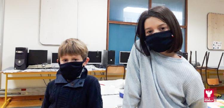 Des masques offerts dans les écoles élémentaires de Rumilly