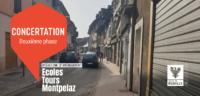 Contribuer au projet d'aménagement du secteur Ecoles / Tours / Montpelaz