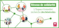 Un réseau de solidarité animé par l'Espace Croisollet