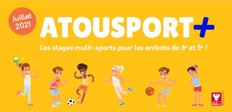 Atousport + : des vacances sportives pour vos enfants