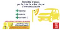 Déchetterie : contrôle d'accès par lecture de plaque d'immatriculation