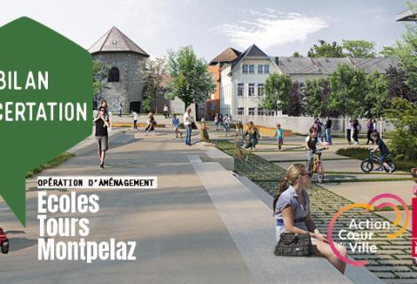 Bilan : concertation Ecoles / Tours / Montpelaz