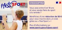 Pass'sport : 50 € par enfant pour une inscription en club